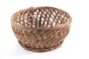 Beautiful-Age-Basket-Holzgelfecht-Old-Vintage-Decoration-Bread-Bun-Plant-Bowl