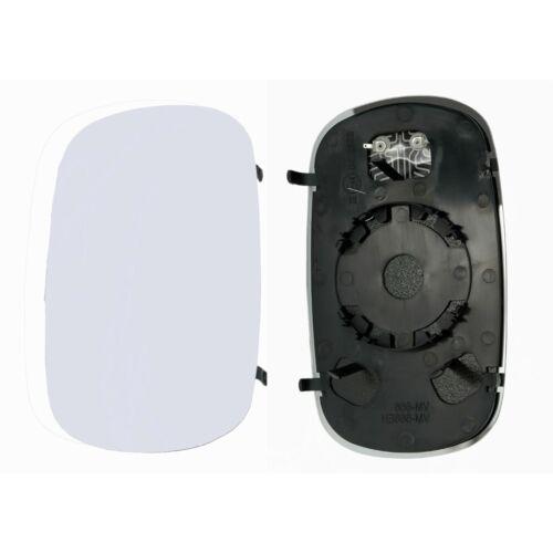 GLACE RETROVISEUR FIAT DOBLO 1 119 223 3//2001 A 2//2010 GAUCHE DEGIVRANT CONVEX