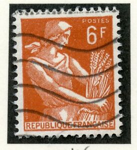 STAMP-TIMBRE-DE-FRANCE-OBLITERE-N-1115-TYPE-MOISSONNEUSE