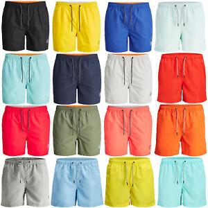 JACK&JONES Shorts de Baño Hombre Secado Rápido Elástico Bañador Calzoncillos