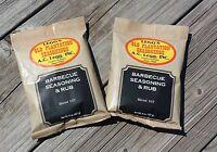Ac Legg's Old Plantation Bbq Seasoning & Rub Blend 107, 2 Packs - Free Shipping