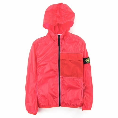Stone Island Junior 41230 Lamy Packable Jacket Red V0010