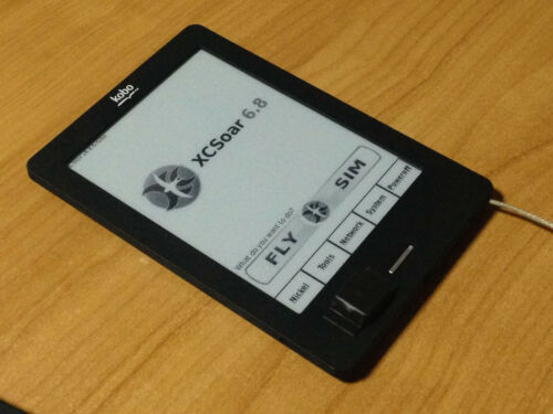 Kobo Touch GPS with XCSoar or LK8000 or Top Hat Flight computer