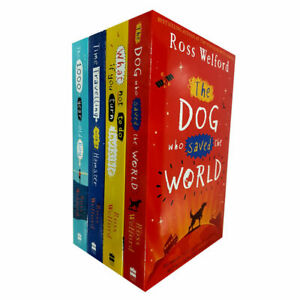 Ross-Welford-Collection-4-Books-Set-pack-Dog-Who-Saved-the-World-1000-year-boy