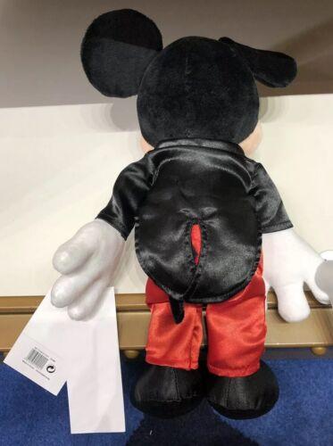 Peluche MICKEY TUXEDO Smocking PWP Disneyland Paris