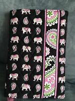 Vera Bradley pink Elephants Paperback Book Cover - Limited Edition -
