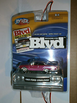 RARE 1960 FORD STARLINER BLVD KING OF THE STREETS JOYRIDE RC2 1/64 1D EE