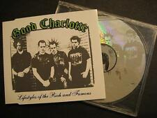 "GOOD CHARLOTTE ""LIFESTYLES OF THE RICH AND FAMOUS"" - MAXI CD"