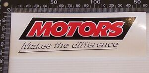 GENUINE-HOLDEN-MOTORS-MAKES-THE-DIFFERENCE-CAR-BUMPER-STICKER-DEALER-MERCHANDISE
