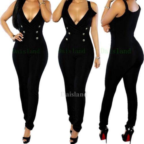 Women Clubwear Summer Bandage Playsuit Bodycon Party Jumpsuit Romper Trousers