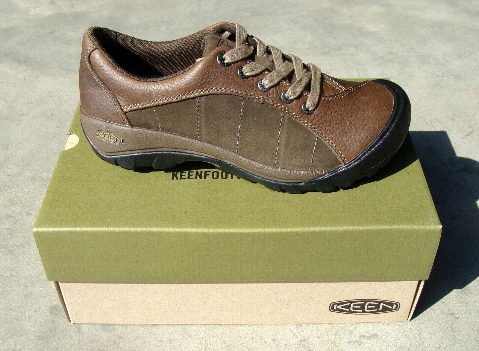 Keen Women's Presidio shoes - Cascade Brown   Shitake - 10