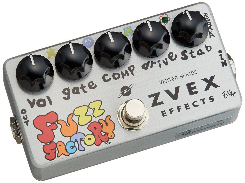 Z.VEX Fuzz Factory Vexter Series Guitar Effect Stomp Pedal  FREE EMS