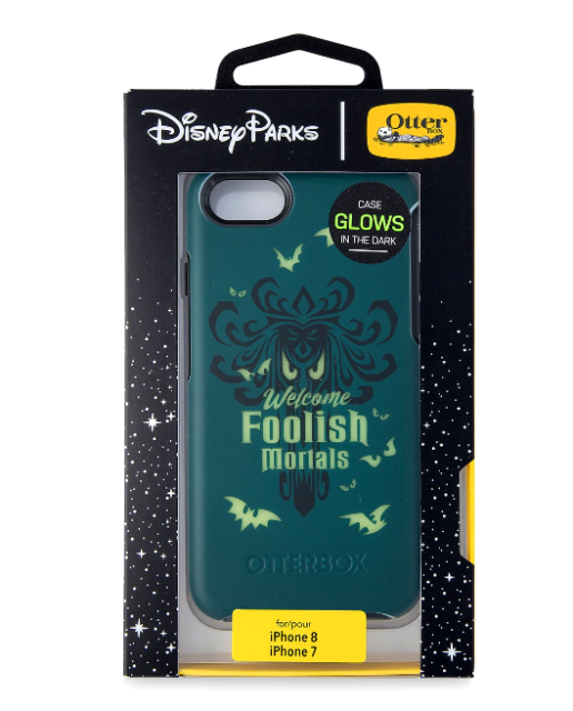Iphone 8 7 6 Case Disney Otterbox Haunted Mansion Wallpaper Foolish Glows Dark