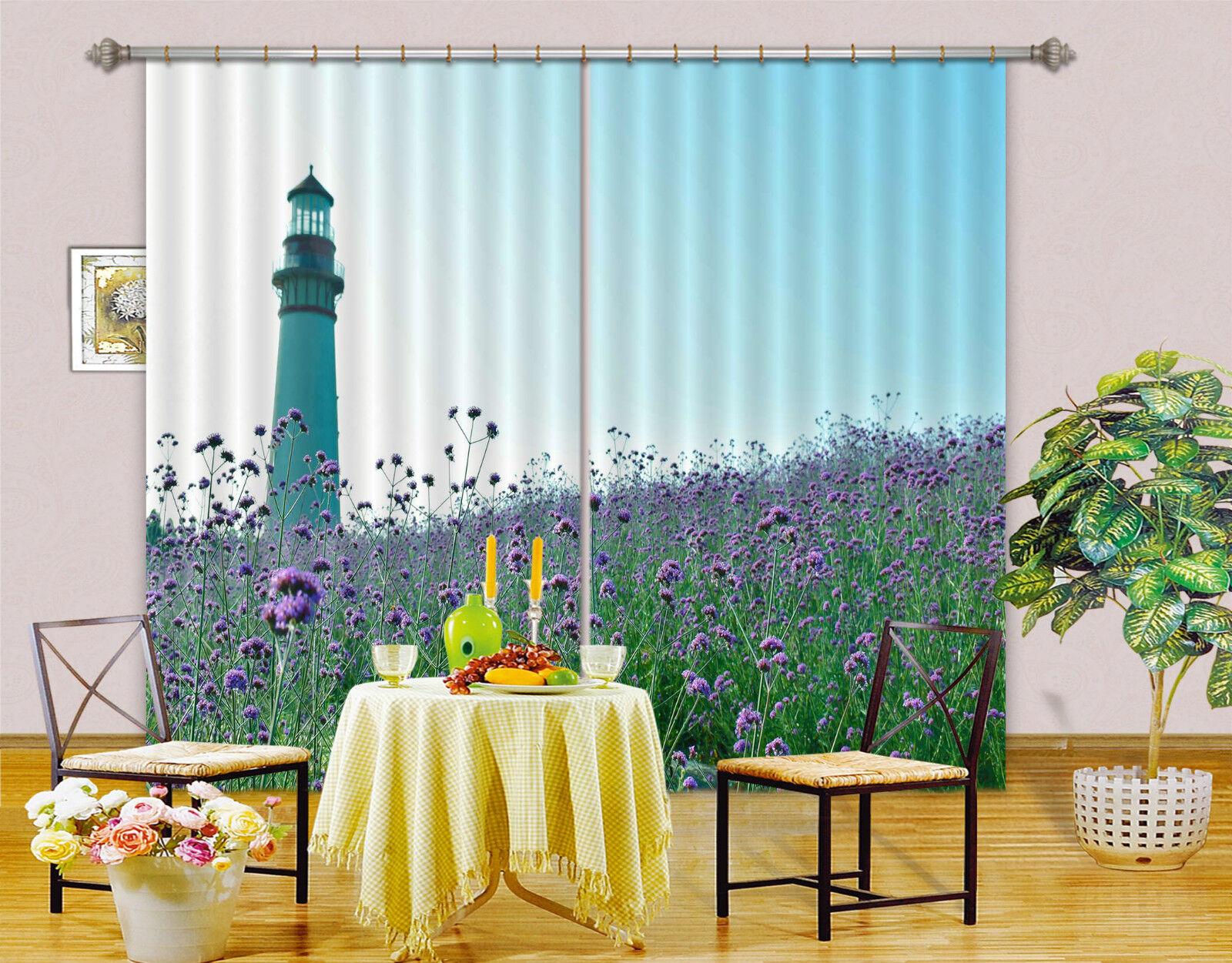 3d leuchtturmes 622 blocco foto sipario pressione sipario tende tessuto finestra de