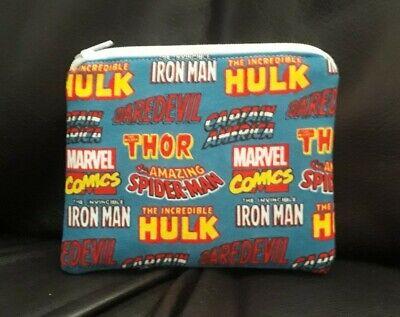 small handmade zippered bag by studioyj Marvel's Eyes Of The Avengers