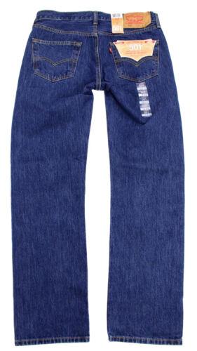 Levi/'s 501 Men/'s Original Fit Straight Leg Jeans Button Fly 501-0194