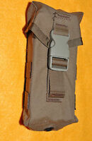 USMC Coyote Brown Magazine Pouch  Service type rifles,holds 3 mags  MAG PUL 556