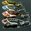 4pcs-SET-Lots-Fun-Metal-Fishing-Lures-Bass-CrankBait-Spoon-Crank-Bait-Tackle thumbnail 3