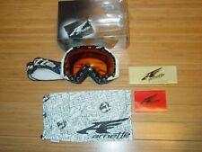 ffe18316757e Arnette Mercanary Black Skulls Persimmon Lens Ski Goggles   Pouch White  Adult