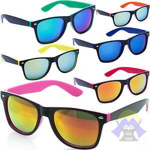 Occhiali da sole estate vintage a specchio moda nuovi glasses uomo donna fashion ebay - Occhiali a specchio uomo ...