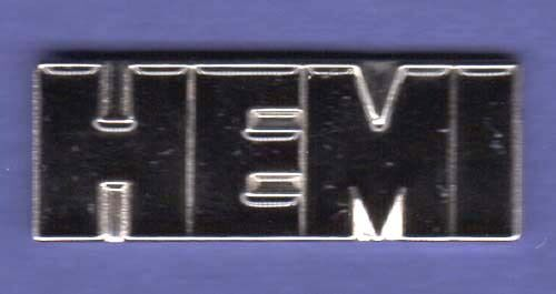 HEMI HAT PIN LAPEL PIN TIE TAC ENAMEL BADGE #0109