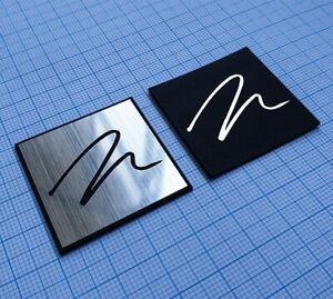 MARTIN LOGAN Metallic Sticker Badge Set - 2 pieces | eBay