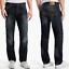 Nudie-Herren-Regular-Straight-Fit-Jeans-Hose-Hank-Rey-Indigo-Depth Indexbild 1
