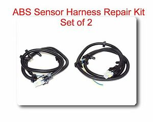 s l300 set 2 multi fit abs wheel speed sensor wire harness plug pigtail GM Wiring Harness Connectors at bayanpartner.co