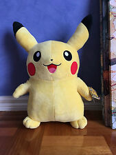 60cm Large POKEMON Pikachu Figure Soft Plush Toy Pillow Stuffed Animal Gift