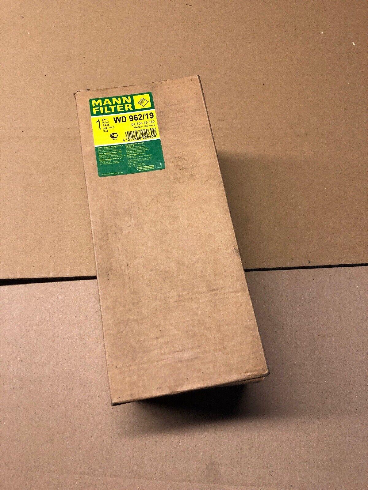 Hydraulikfilter für Automatikgetriebe MANN-FILTER WD 962//19