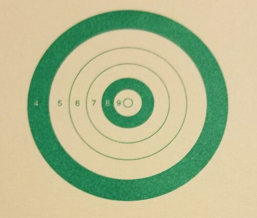"""Pack of 18 USBR Green 14/""""x16/"""" United States Bench Rest Targets"""