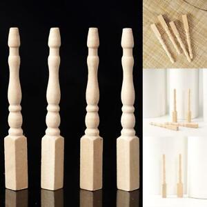 4PCS-Cabriole-table-legs-dollhouse-miniature-1-12-scale-wood