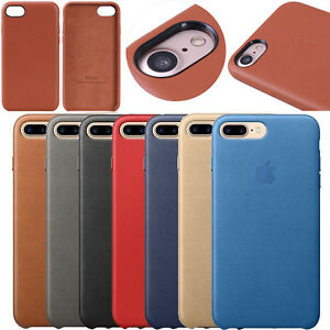 da6e753952a Funda Carcasa de Cuero para iPhone 7 8 7 Plus 8 Plus Original | eBay