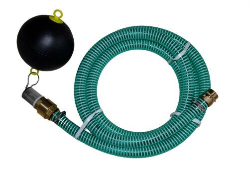 Saugschlauch 1 Zoll 25mm Sauggarnitur Ansauggarnitur schwimmende Entnahme 1-25m