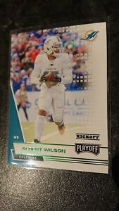 Albert Wilson Panini Playoff Green Parallel Kickoff Trading Card, Miami Dolphins