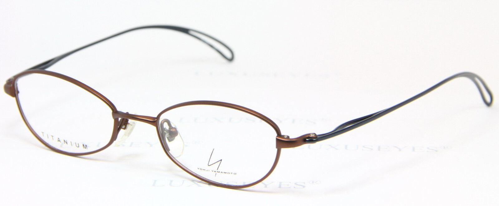 YOHJI YAMAMOTO 51-0011 Original Brille Eyeglasses Gafas TITANIUM Light Bril 2 1dHMPKjT3D