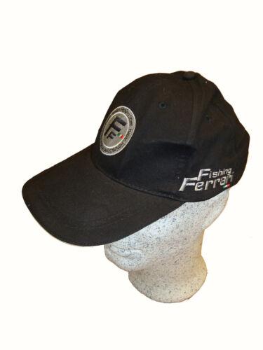 Fishing Ferrari Cappy Mütze Hut in schwarz One-Size Cap Einheitsgröße Kopfbekleidung