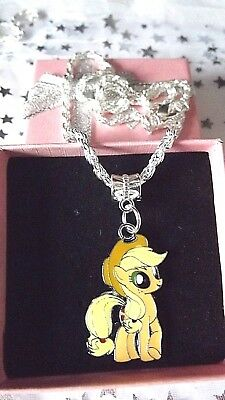 MY LITTLE PONY TWILIGHT SPARKLE NECKLACE STRONG CHAIN AGE 3,4,5,6,7,8 Y GIFT BOX