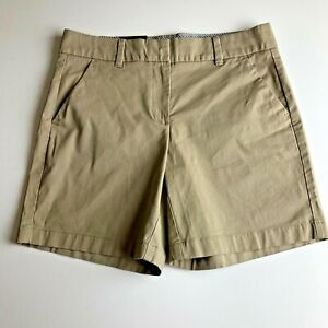 NWT-TOMMY-HILFIGER-Flat-Front-Casual-Shorts-COBBLESTONE-7-034-Inseam-Women-039-s-Size-6