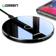 Ugreen Wireless Charger for iPhone 8/x 10w Qi Fast Charging Pad Samsung S8 S7 LG