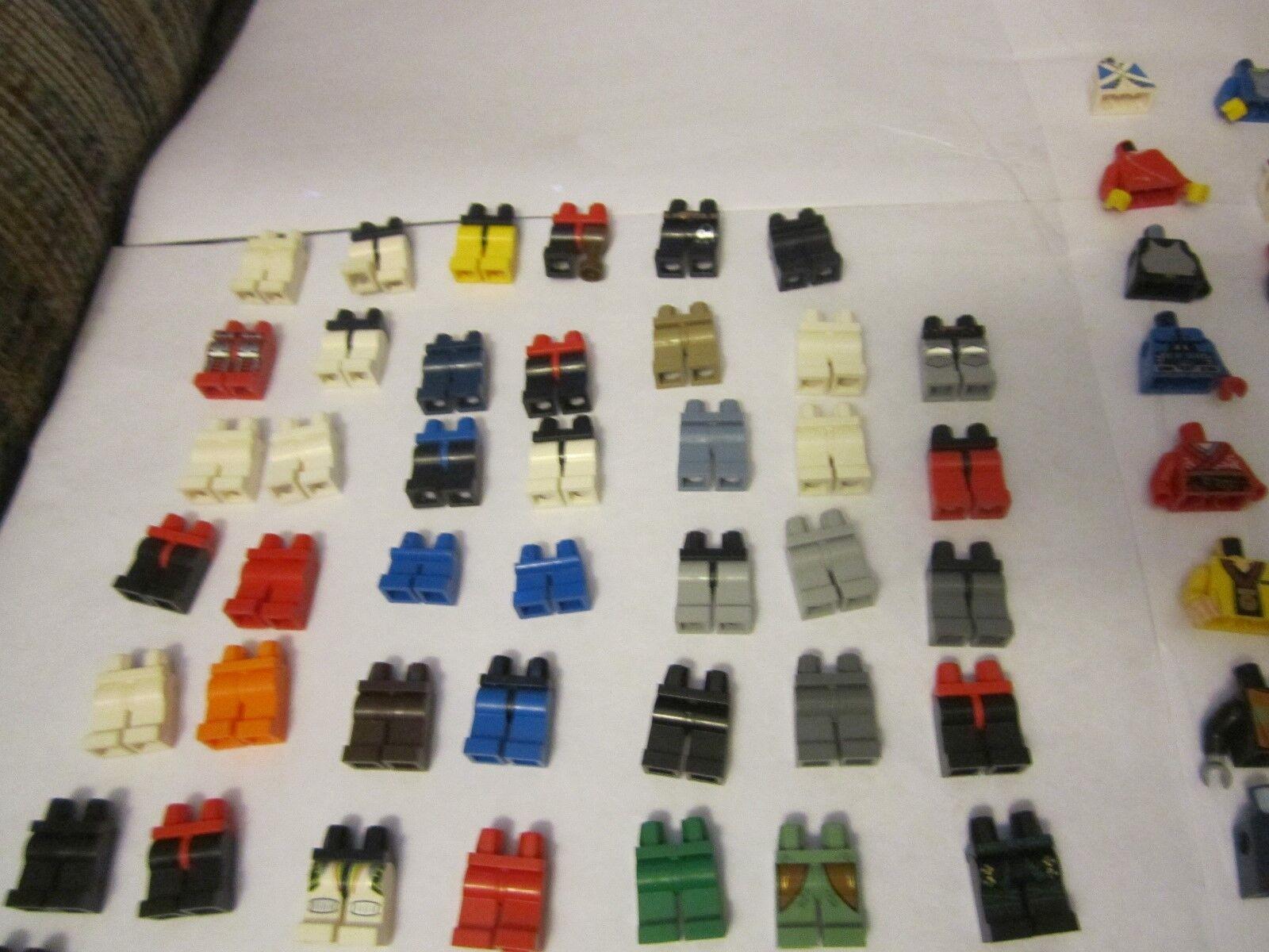 Large Huge Lego Minifig Minifigure Parts Lot Lot Lot Torsos Legs arms hands 100 plus 91c7ab
