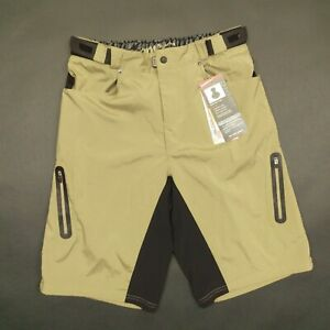 Tan S Zoic Men/'s Ether Shorts w// Essential Liner