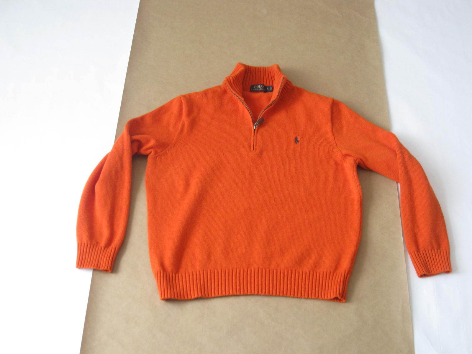 Men's Polo Ralph Lauren 1 4 Zip Sweater Size Large