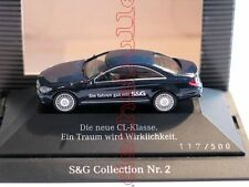 Mercedes-Benz CL Coupe S&G COLLECTION NR. 2 Herpa 1:87 RAR PC SONDERMODELL