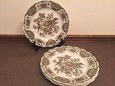 "Ridgway of Staffordshire ""WINDSOR"" Multicolor ~ Set of 4 ~ Dinner Plates ~ 10"""