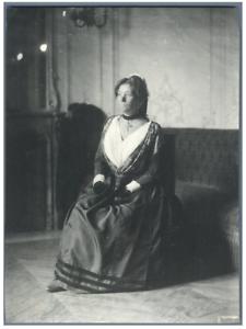 H-Blancard-France-Portrait-de-Mlle-Grumbach-034-L-039-Arlesienne-034-Vintage-p