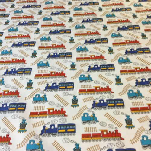 PolyCotton Boys Toys Collection Fat 1//4 50x56cm  and Metre x 100x112
