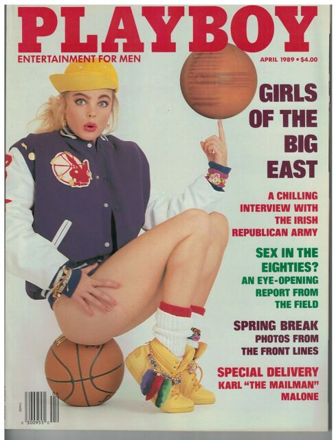 April 1989 issue of Playboy Girls of the Big East