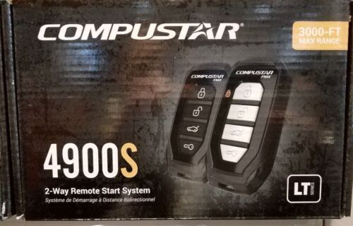 NEW Compustar CS4900-S 2-Way Remote Start System 3000-FT Range 4900S