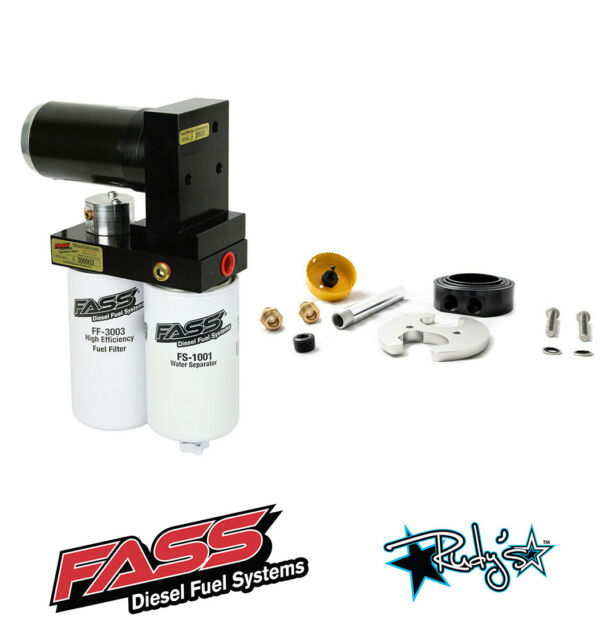 FASS 100 GPH Fuel Lift Pump & Sump For 1989-1993 Dodge Ram